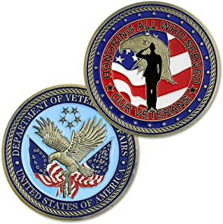 US Veterans Affairs Challenge Coin Military Coin