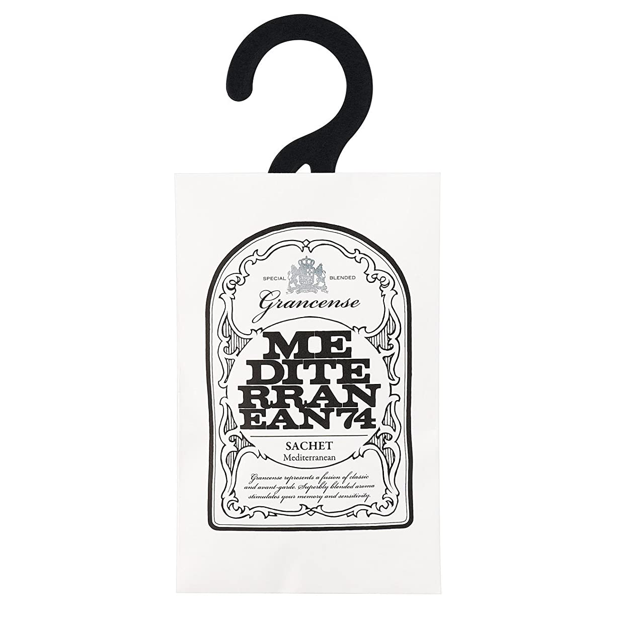 うそつき想像力豊かな学期グランセンス サシェ(約2~4週間) メディテレーニアン 12g(芳香剤 香り袋 アロマサシェ 潮風を感じさせてくれるアクアティック?フローラルの香り)