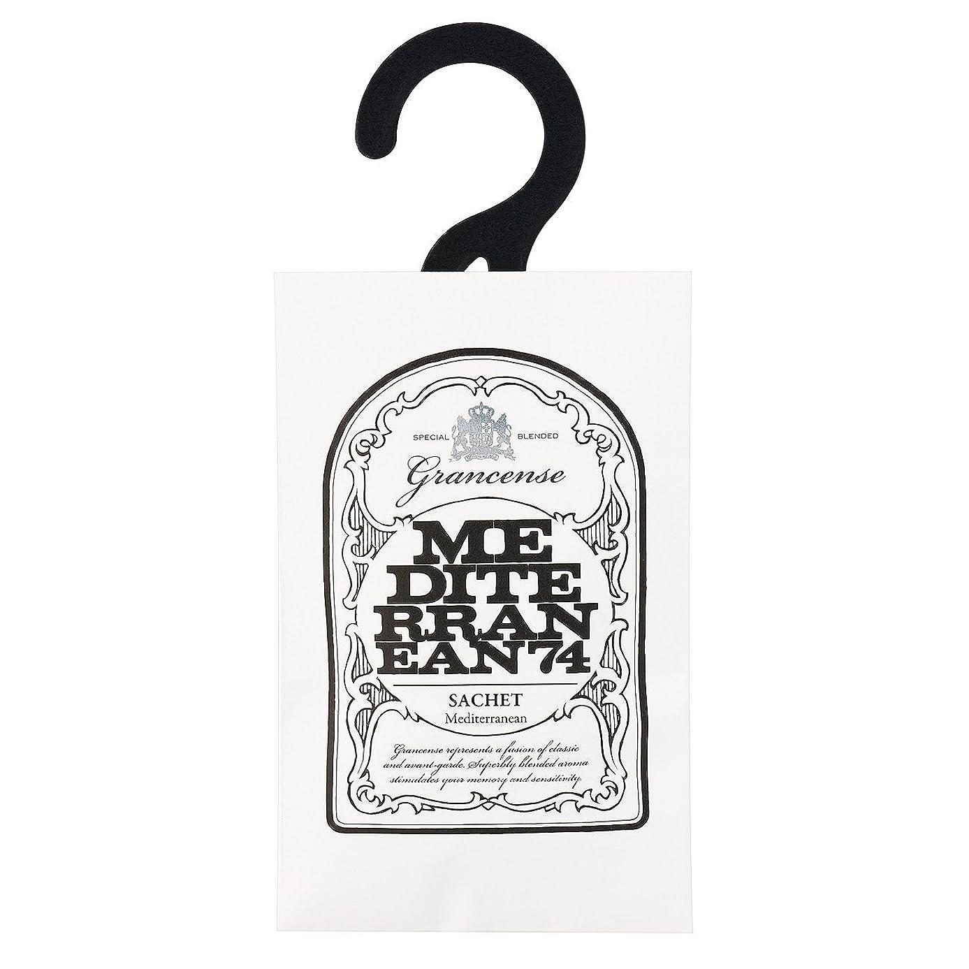 翻訳する暫定付属品グランセンス サシェ(約2~4週間) メディテレーニアン 12g(芳香剤 香り袋 アロマサシェ 潮風を感じさせてくれるアクアティック?フローラルの香り)