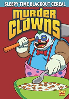 Murder Clowns: Cereal Box Cover Variant A