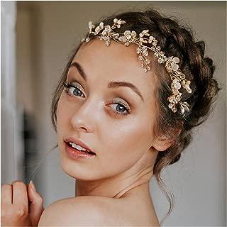 Best bridal headband rose gold Reviews