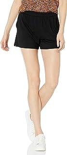 Amazon Essentials Pantaloncini in Maglia con vestibilità Classica Donna