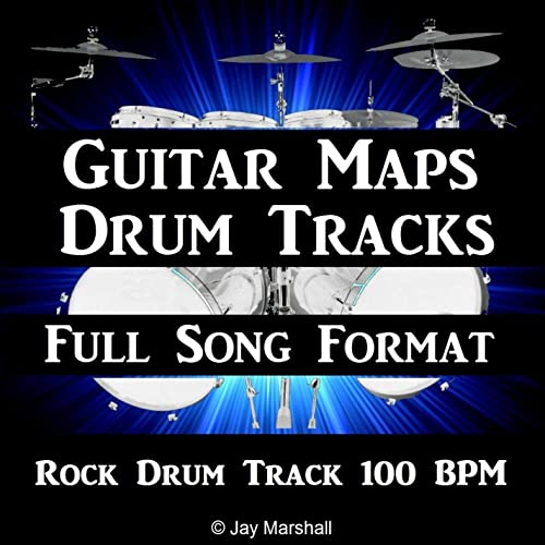 Rock Drum Beat 100 BPM Backing Track for Bass Guitar by
