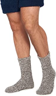 CozyChic Heathered Men's Socks