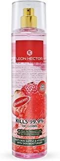معقم اليدين برائحة الفراولة من ليون هيكتور 250 مل