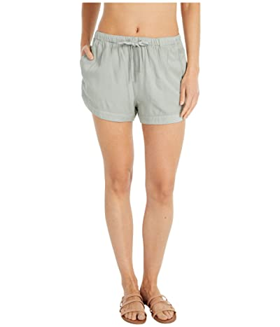 RVCA New Yume Shorts (Dusty Teal) Women