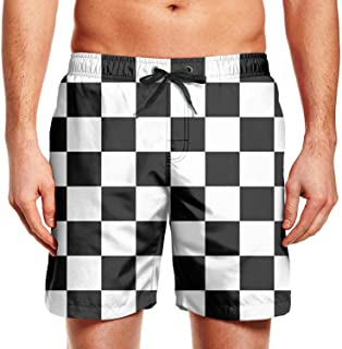 key in Mens Boardshorts Colored Donuts Quick Dry Comfortable Swimming Trunks