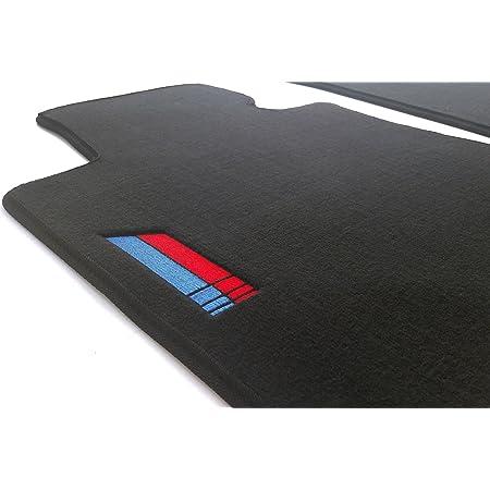 Kh Teile Fussmatten E87 E81 M1 Edition Sport Velours Automatten Bestickt Autoteppich Schwarz 2 Teilig Auto