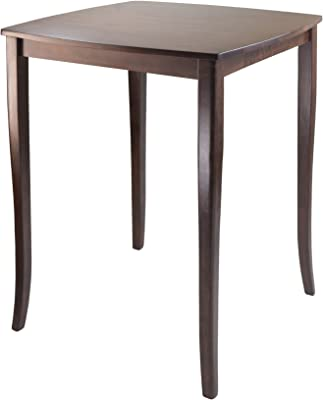Surprising Amazon Com Furniture Of America Anlow Counter Height Table Short Links Chair Design For Home Short Linksinfo