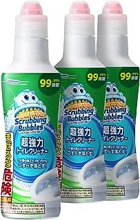 【まとめ買い】 スクラビングバブル 超強力 トイレクリーナー ボトルタイプ 400g×3個