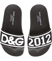 Dolce & Gabbana Kids - Logo Slide (Little Kid)