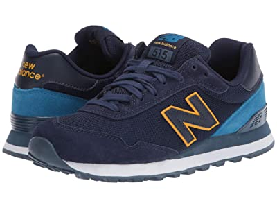 New Balance Classics ML515 (Pigment/Mako Blue) Men