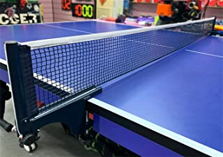 IPENNY Collapsible Sports Table Tennis Net Professional Ping Pong Net Portable Easy Setup Net for Ping Pong Easily Attache...