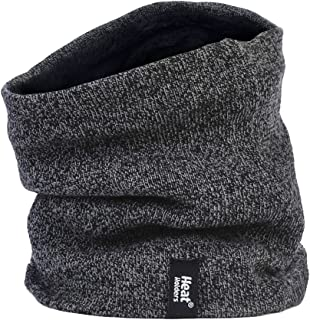 Heat Holders - Men's Thermal Winter Neck Warmer - 2.6 tog - One size (Grey)