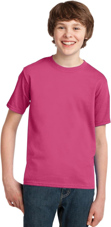 Port & Company PC61Y Youth Essential T-Shirt - Sangria - XL
