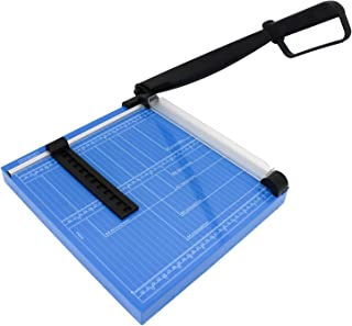 """HFS (R) 12"""" A4 Paper Cutter Multi-Purpose Trimmer for Copper Sheet, Leather, Plastic Sheet, Iron Sheet, Non-Woven Fabric 12 Sheets 80-Gram Paper"""
