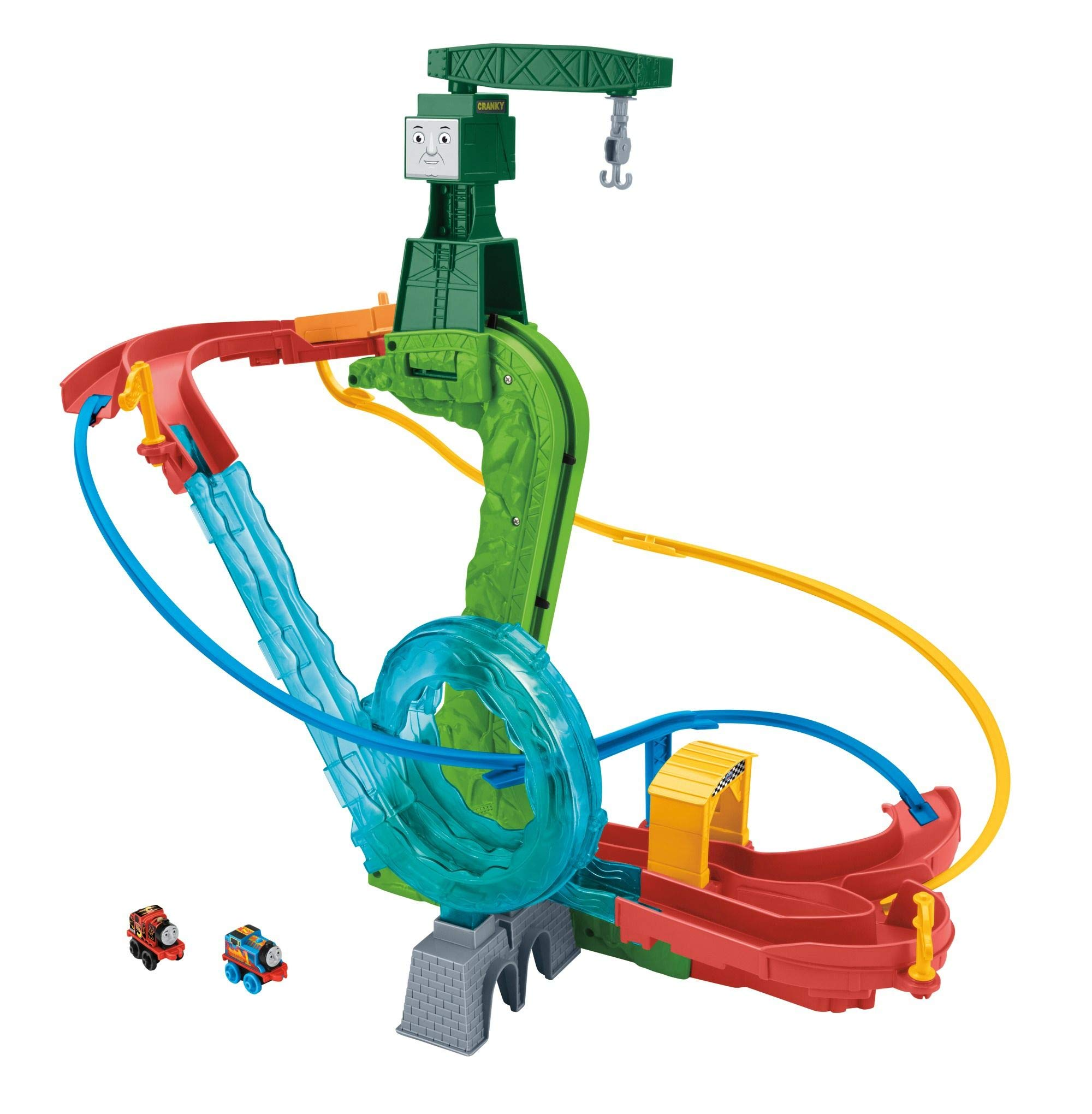 Thomas & Friends CGM19 MINIS - Set de Pista motorizada: Amazon.es ...