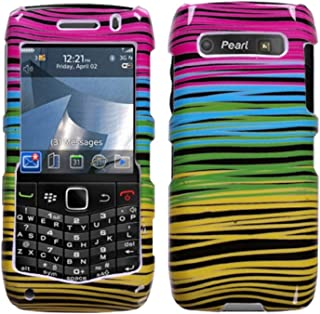 Mybat Protector Cover for Blackberry 9100 - Retail Packaging - Breezy Midnight