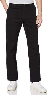 MERAKI Men's Cotton Regular Fit Chino Trousers