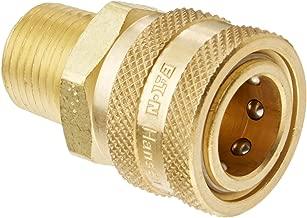 Eaton Hansen 4S25 Brass Straight Through Ball Lock Hydraulic Fitting, Socket, 1/2