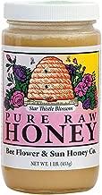 Bee Flower & Sun, Honey Raw Star Thistle Blossom, 16 Ounce