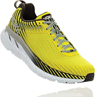 HOKA ONE ONE Men's Clifton 5 Running Shoe Multiple Colours Size 9.5 D US Yellow