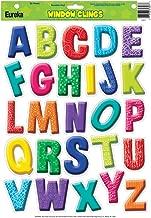 Eureka Color My World Alphabet Window Clings (836071)