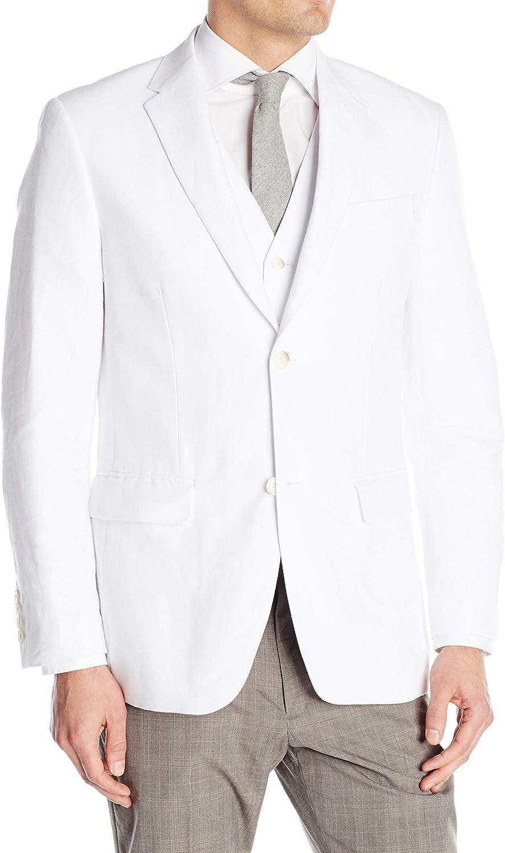 Perry Ellis Men's Linen Suit Jacket at  Men's Clothing store