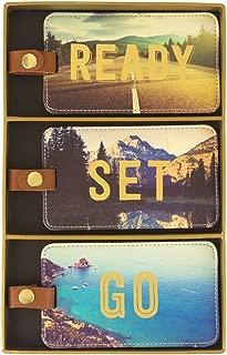 Luggage Tags, Box Set of 3