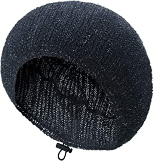 TEFITI Womens Snood Pearl Snoods Hairnet Headcover Knit Beret Beanie Cap DragonflyYarn