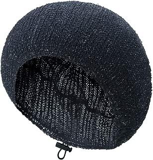 TEFITI Womens Snood Pearl Snoods Hairnet Headcover Knit Beret Beanie Cap DragonflyYarn