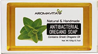 Aromavita Oregano Oil Soap - Natural Plant Therapy Hand Soap or Body Wash - Topical Therapeutic Skin Cleanser for Acne, Eczema, Foot and Nail Problems