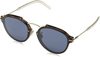 Dior Eclat UGM/72 Havana-Rose Gold/Grey Sunglasses