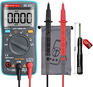 NKTECH NK-51D True RMS Backlit Auto-Range Pocket Digital Multimeter Temperature -20-1000℃ AC DC Voltage Current Resistance Capacitance Frequency Diode Continuity Duty Cycle Test 6K Counts