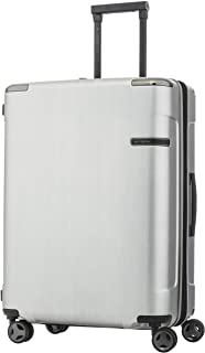 Samsonite Evoa 69Cm Spinner Brushed Silver - Suitcases - Suitcases