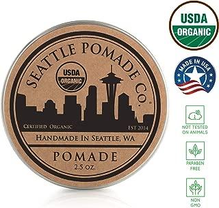 Seattle Pomade Co. USDA Certified Organic Pomade