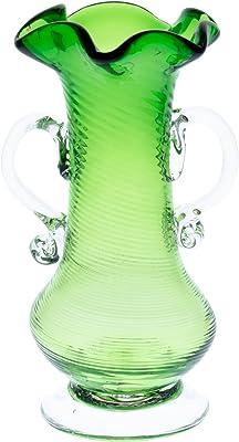 アールジーシー(RGC) 耳付花瓶 緑 (S)