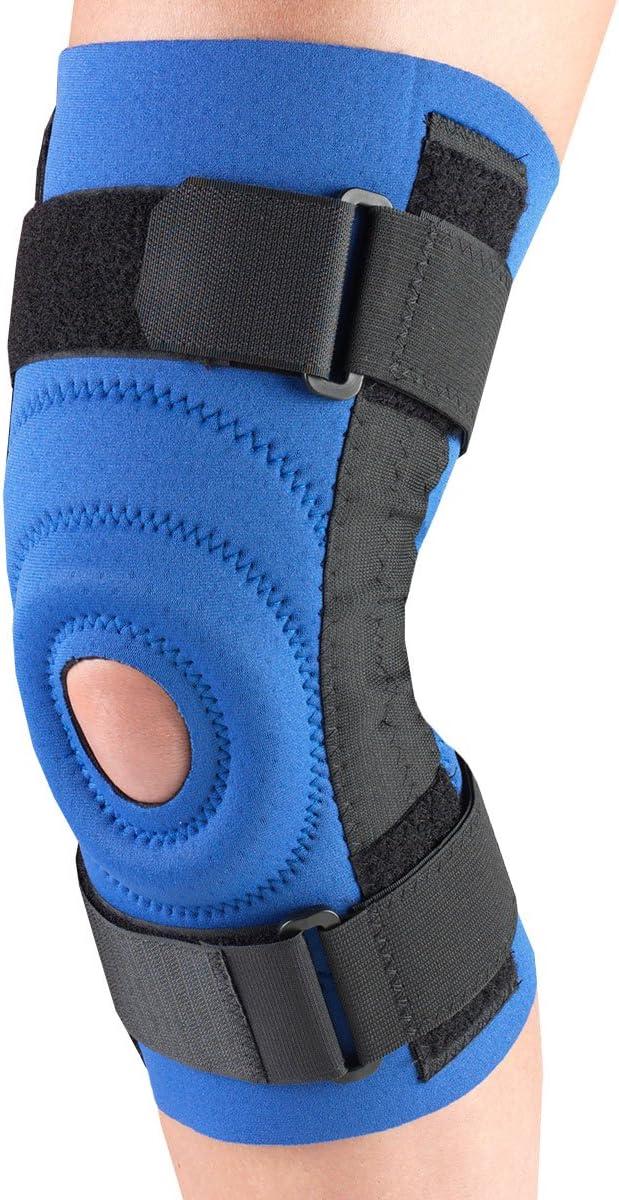 OTC Bargain sale Max 42% OFF Knee Stabilizer Spiral Blue 3X-Large Neoprene Stays