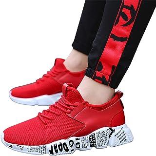 Memefood Mujer Zapato Deporte Zapatillas Deportivas De Cordones Calzado Sneakers Running Calzados Para Correr En Asfalto A...