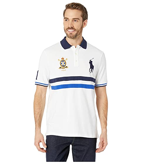 cd7cad8a59 Polo Ralph Lauren Basic Mesh Short Sleeve Novelty Big Pony Classic Fit Knit