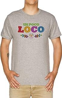 Vendax Un Poco Loco - Coco T-Shirt Uomo Grigio
