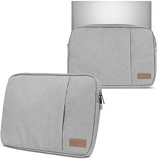 Hoes notebooktas compatibel voor Lenovo Yoga 9i 15.6' in zwart of grijs laptop beschermhoes case cover etui, kleur: grijs