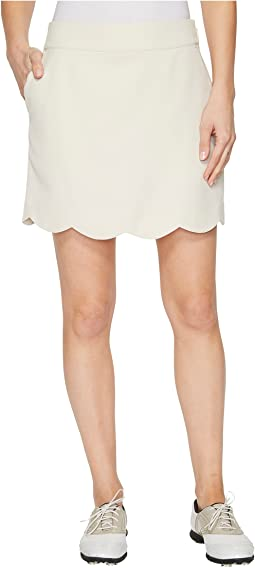 Scalloped Performance Skort