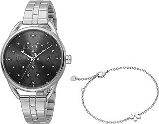 ESPRIT Women's Debi Flower Fashion Quartz Watch - ES1L177M0075