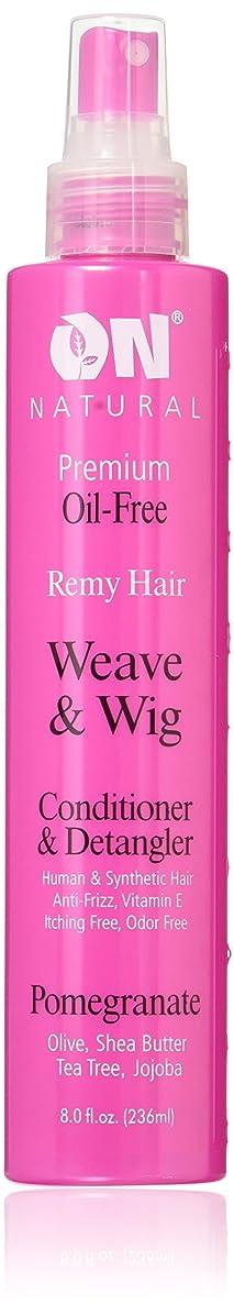 On Natural Weave & Wig Conditioner & Detangler, 8 Fluid Ounce