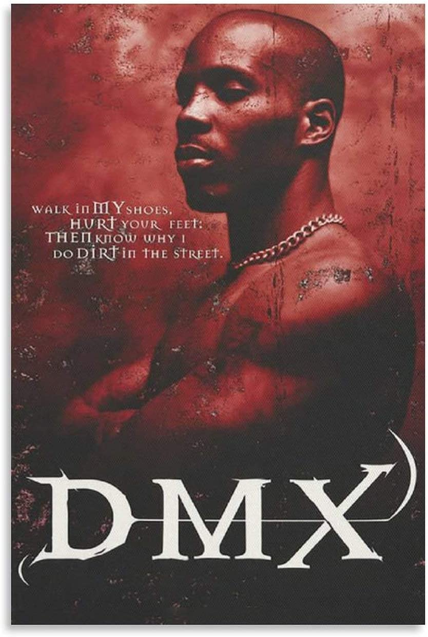 Max 85% OFF BANT DMX Translated Album Dark and Hell is Hot Art Canvas Poster