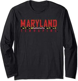 Maryland Terrapins TERPS Women's NCAA LS Tee PPMD04