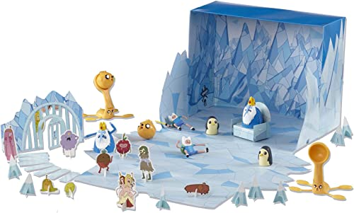 [UK-Import]Adventure Time 1.5'' Deluxe Battle of Ooo Playset