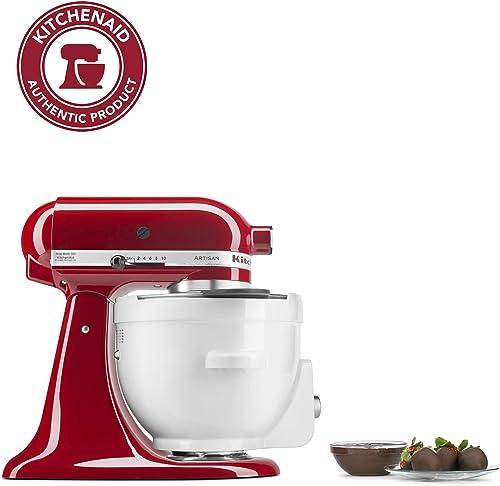 popular KitchenAid KSM1CBT Precise Heat Mixing Bowl For Tilt-Head high quality online sale Stand Mixers,White sale
