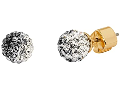 Kate Spade New York Brilliant Statements Mini Studs Earrings (Clear Multi) Earring